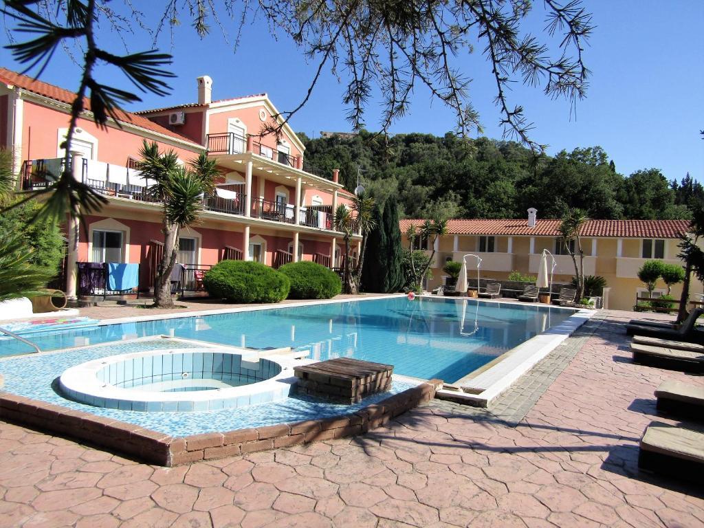 Aparthotel corfu pearl grecia liapades - Hotel con piscina privata grecia ...
