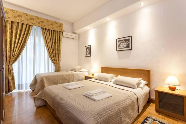 מיטה או מיטות בחדר ב-Kosher Bed&Breakfast La Casa di Eva