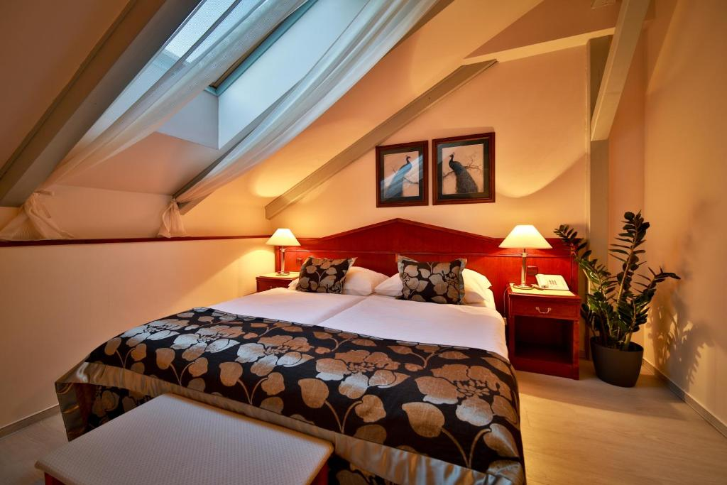 Cama ou camas em um quarto em Carlton