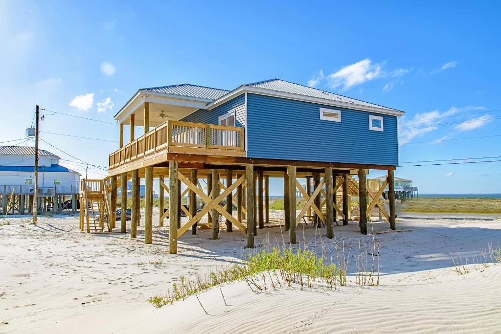 casa de temporada goin 39 coastal home eua dauphin island. Black Bedroom Furniture Sets. Home Design Ideas