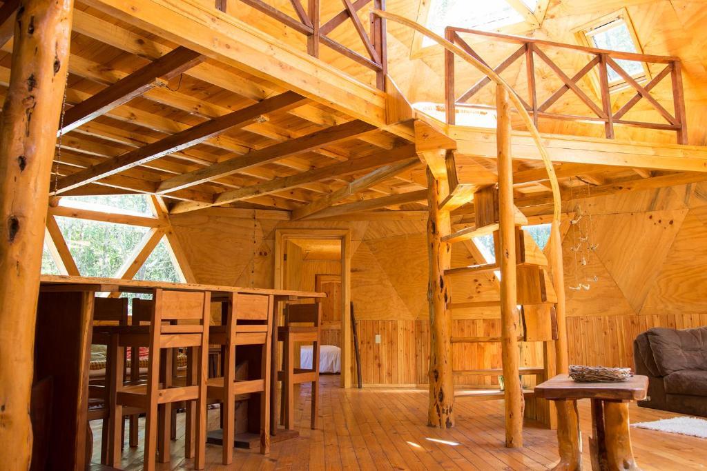 Casa de vacaciones parque domo andino chile puerto montt - Casas geodesicas ...