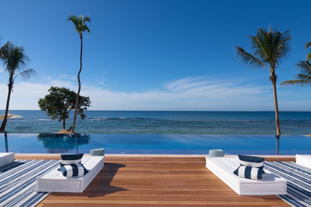 A piscina localizada em Casa de Campo Resort & Villas ou nos arredores