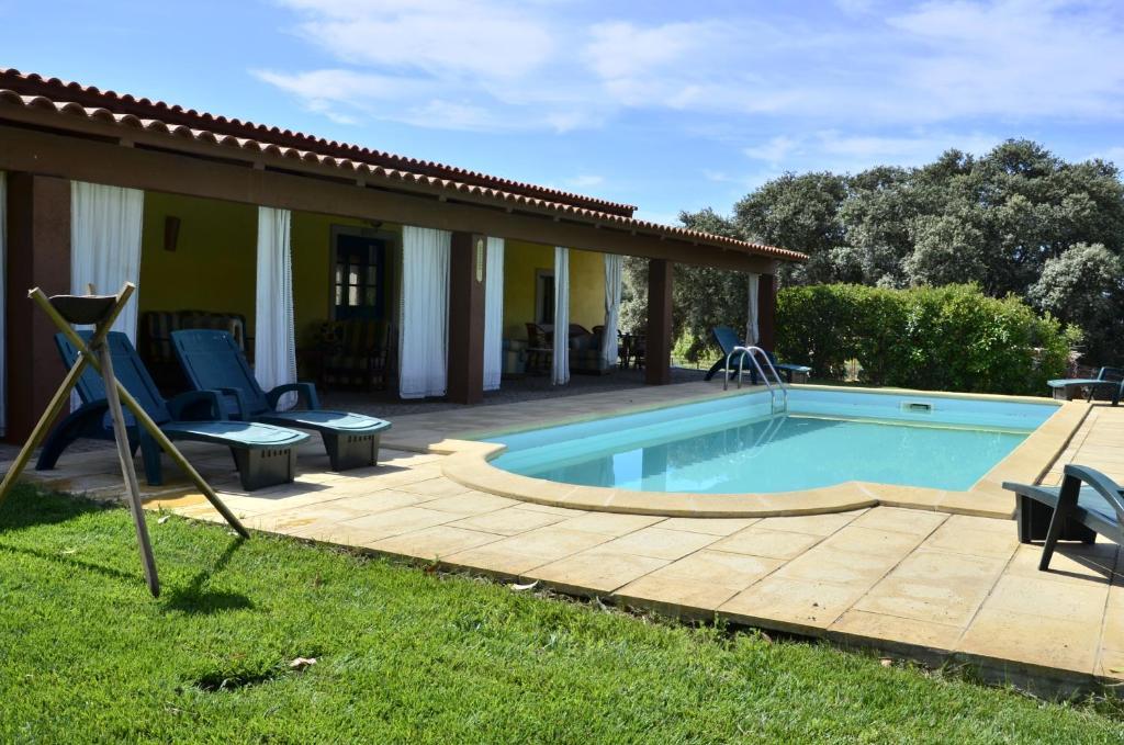 A piscina localizada em Quinta do Chao D'Ordem ou nos arredores
