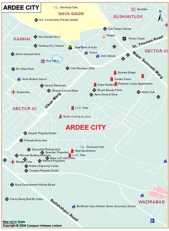 31c8196eb Apartamento C13/1 First Floor. Ardee City (Índia Gurgaon) - Booking.com