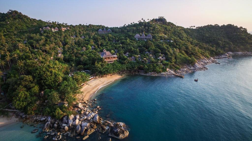 Tầm nhìn từ trên cao của Santhiya Koh Phangan Resort and Spa