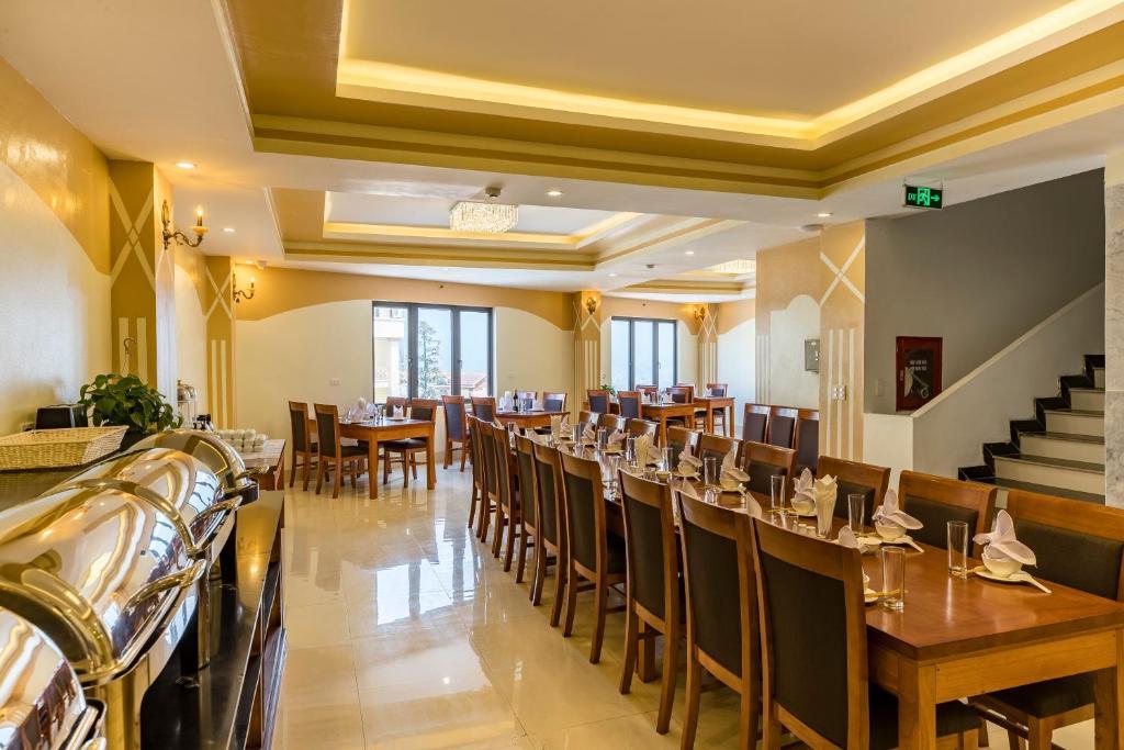 Nhà hàng L'Appetite tọa lạc tại tầng 2 của khách sạn