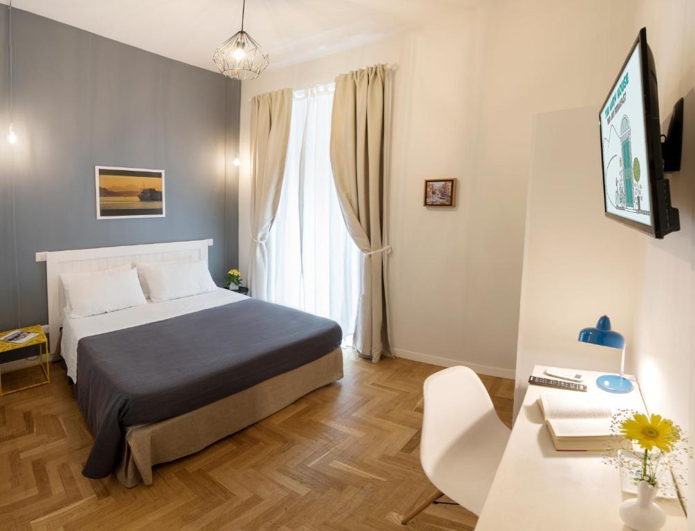 Cama ou camas em um quarto em The Andy House B&B