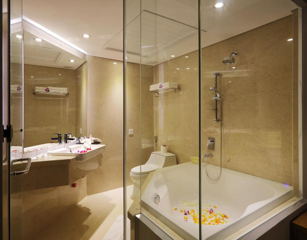 Phòng Premium Giường Đôi Với Bồn Tắm Và Tầm Nhìn Ra Thành Phố