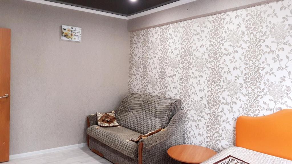 Un lugar para sentarse en Квартира в центре Пятигорска