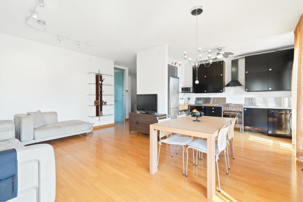 A cozinha ou cozinha compacta de Padova Terrace Flat