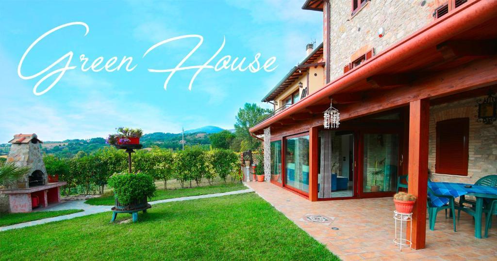 Casa de vacaciones Il Casolare Green House (Italia Cenerente ...