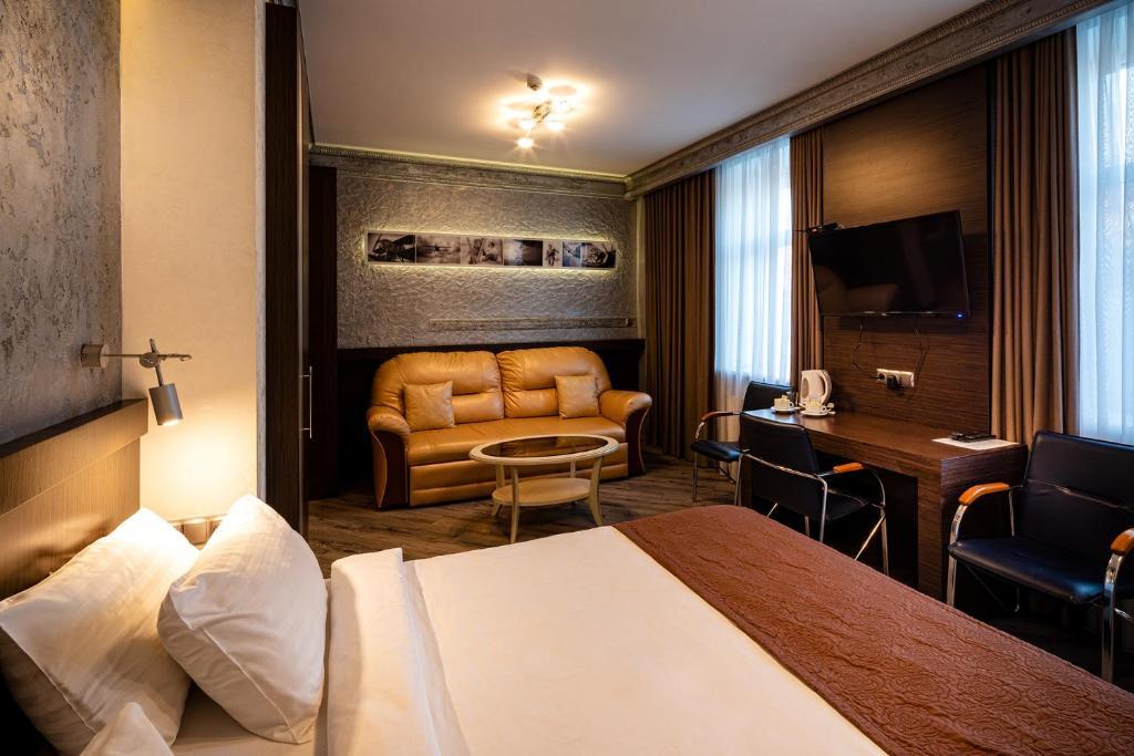 Un lugar para sentarse en Biplan Hotel