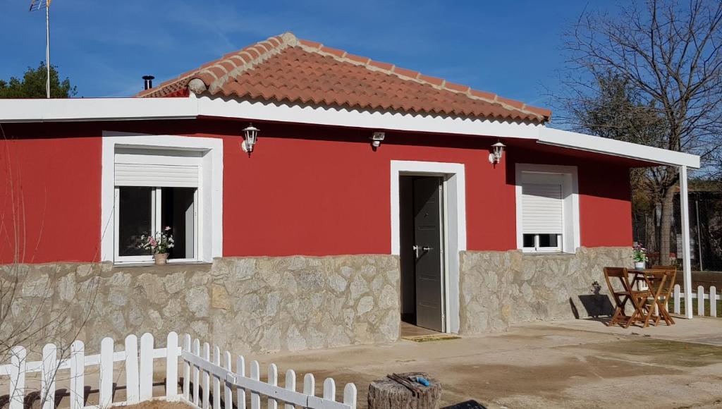 Casa de vacaciones Casa Los almendros (España Illana ...