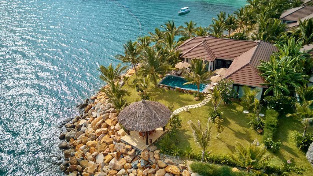 Tầm nhìn từ trên cao của Amiana Resort and Villas Nha Trang