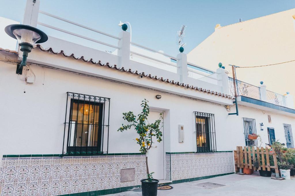 Casa de temporada New luxury Malaga Beachhouse Big Terrace ...