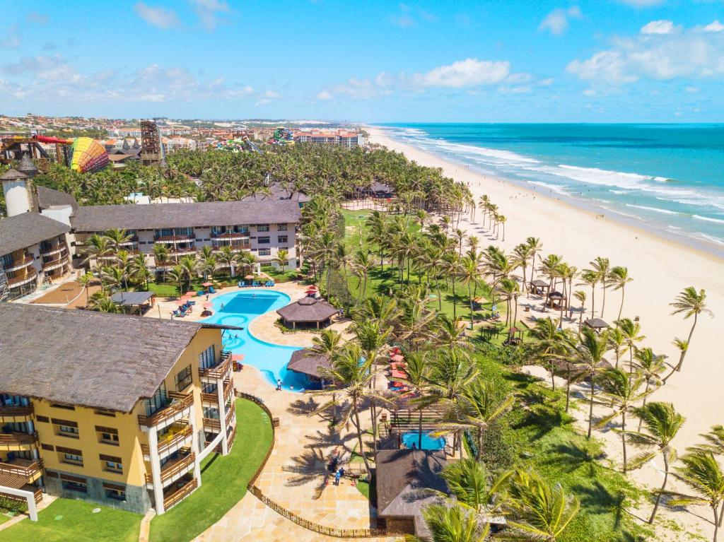 Una vista aérea de Beach Park Resort - Suites