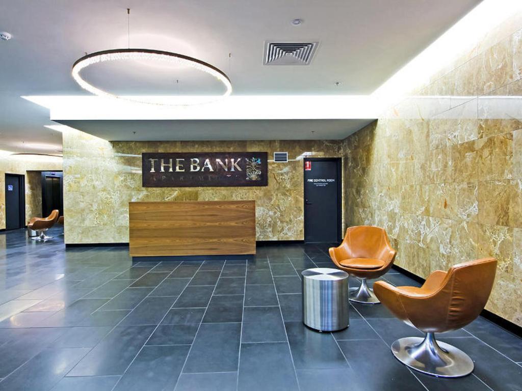 Khu vực sảnh/lễ tân tại Southbank Short Stay Apartment