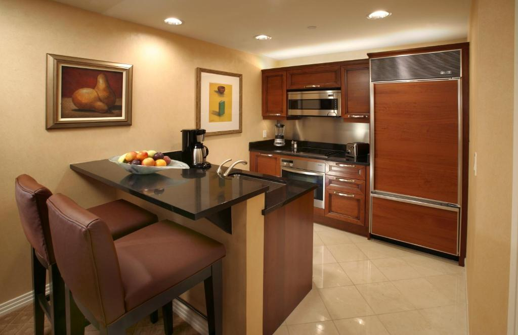 Una cocina o kitchenette en The Signature at MGM
