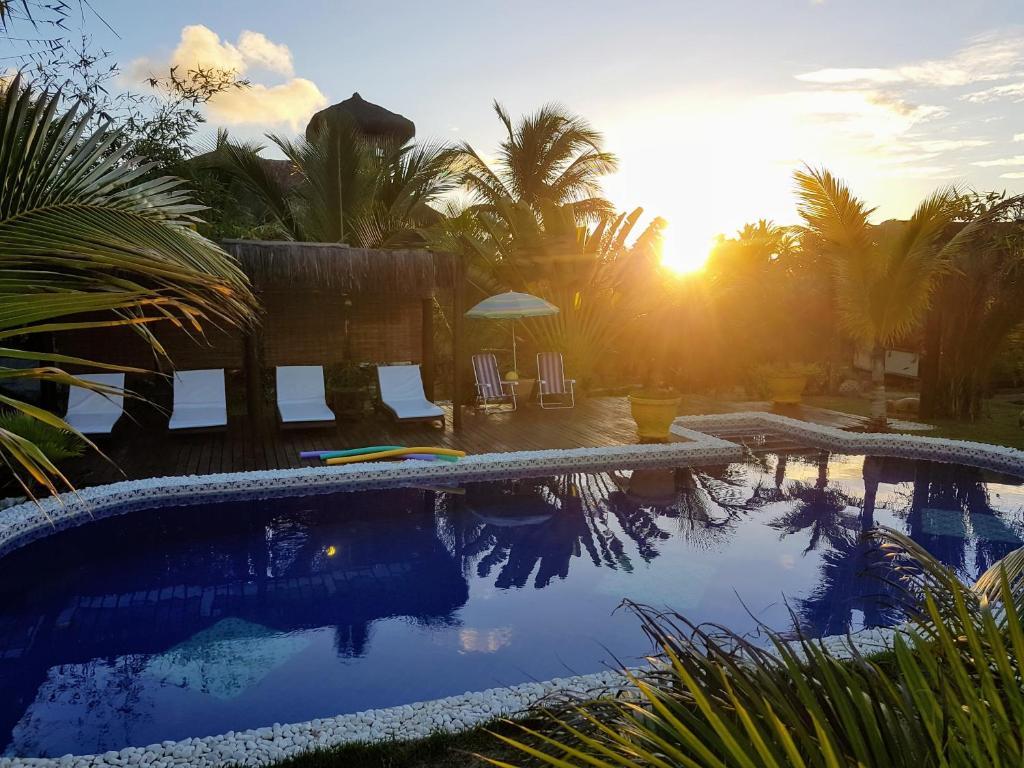 A piscina localizada em Bambusada Boutique Hotel ou nos arredores