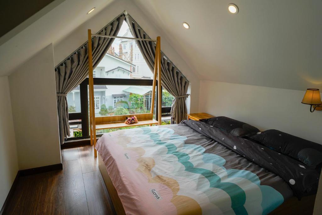 Giường trong phòng chung tại Soulmate Homestay Đà Lạt