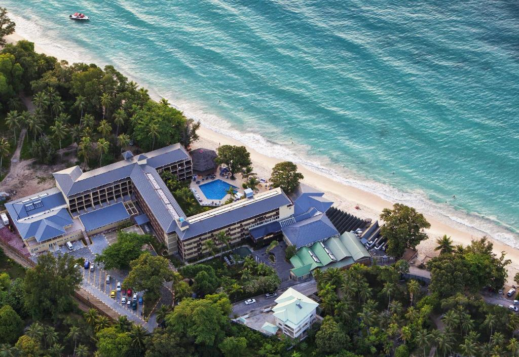 A bird's-eye view of Coral Strand Smart Choice