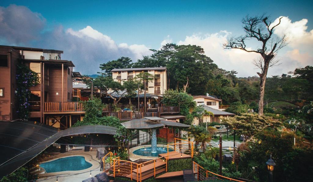 منظر المسبح في فندق وسبا بوكو إيه بوكو - كوستاريكا او بالجوار