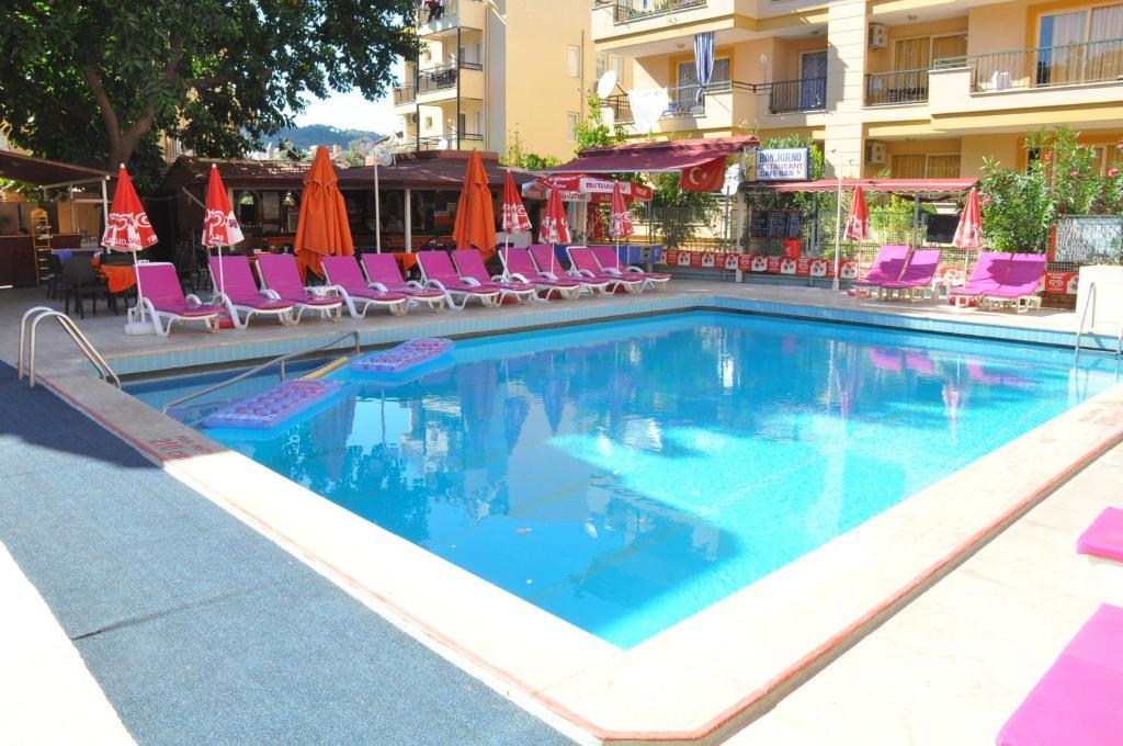 Bonjorno apart hotel marmaris turkey for Appart hotel booking