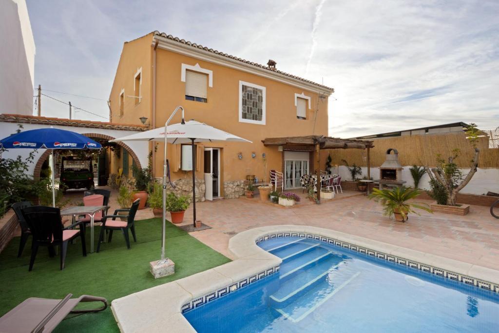 Casa de campo Casa Marta (España Tajarja) - Booking.com