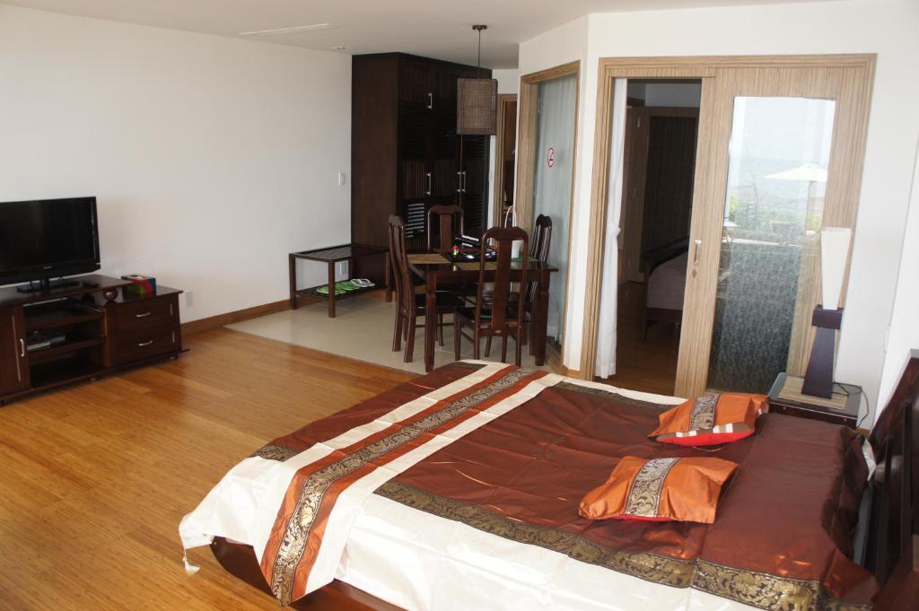 Biệt thự 2 phòng ngủ nhìn ra vườn