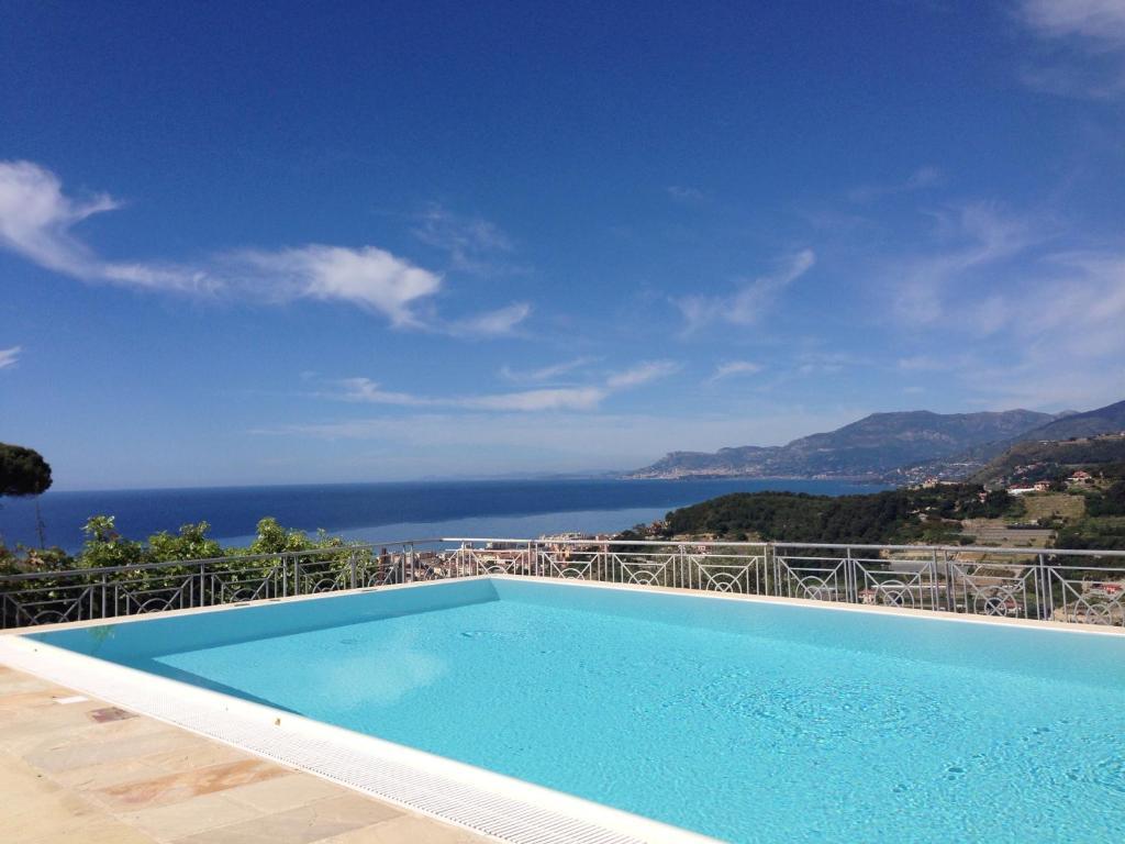 בריכת השחייה שנמצאת ב-La Finestra Sul Mare B&B - Villa Gaia או באזור