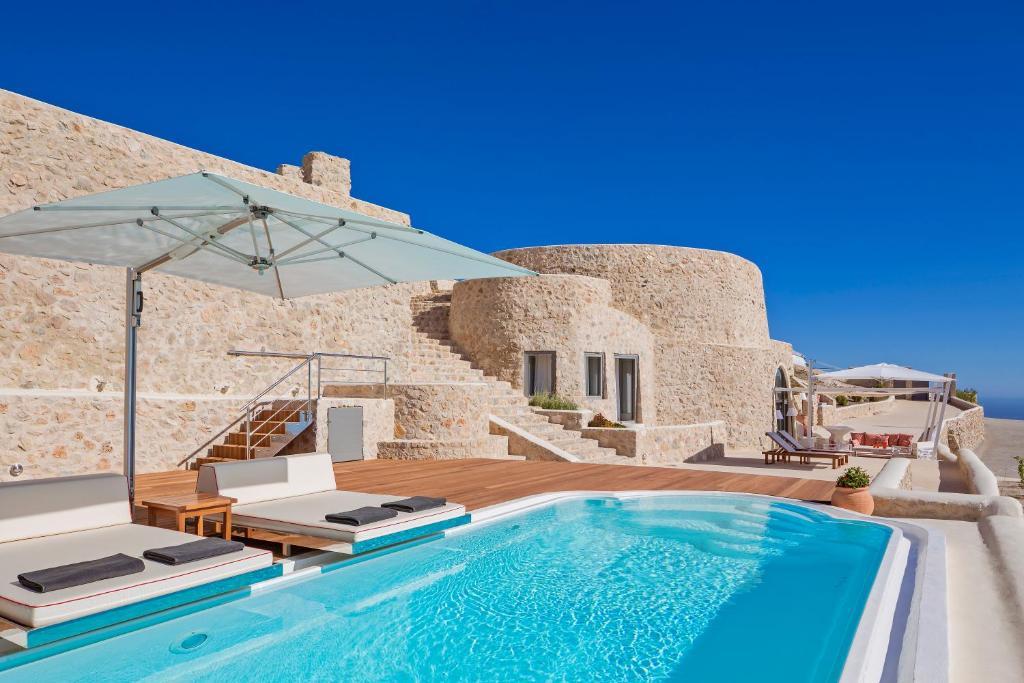 Kamini Santorini Villas Villa In Pyrgos