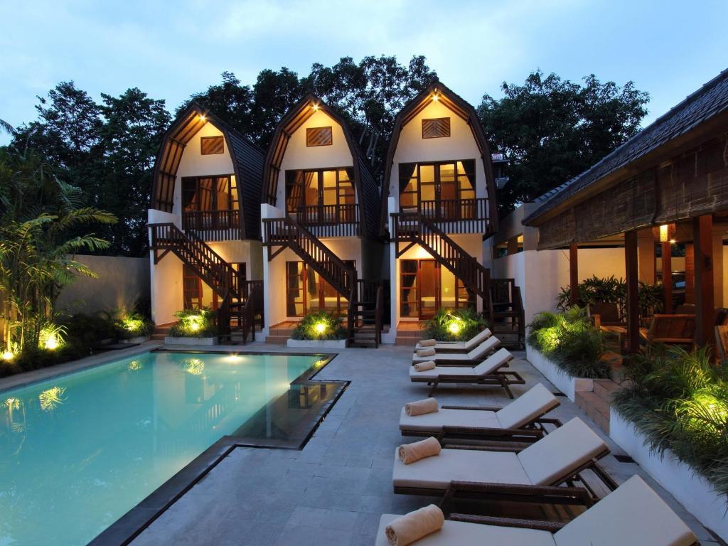 البناء الذي يحتوي بيت الضيافة