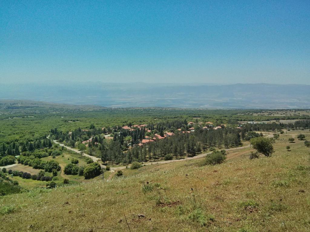 מבט מלמעלה על Golan Heights Hostel