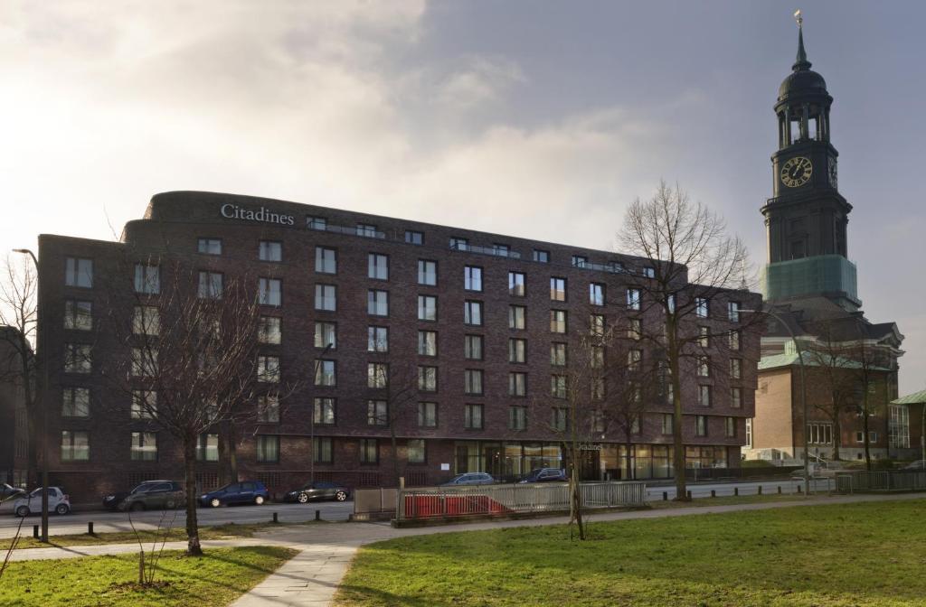 Aparthotel citadines michel hamburg germany for Appart hotel hambourg