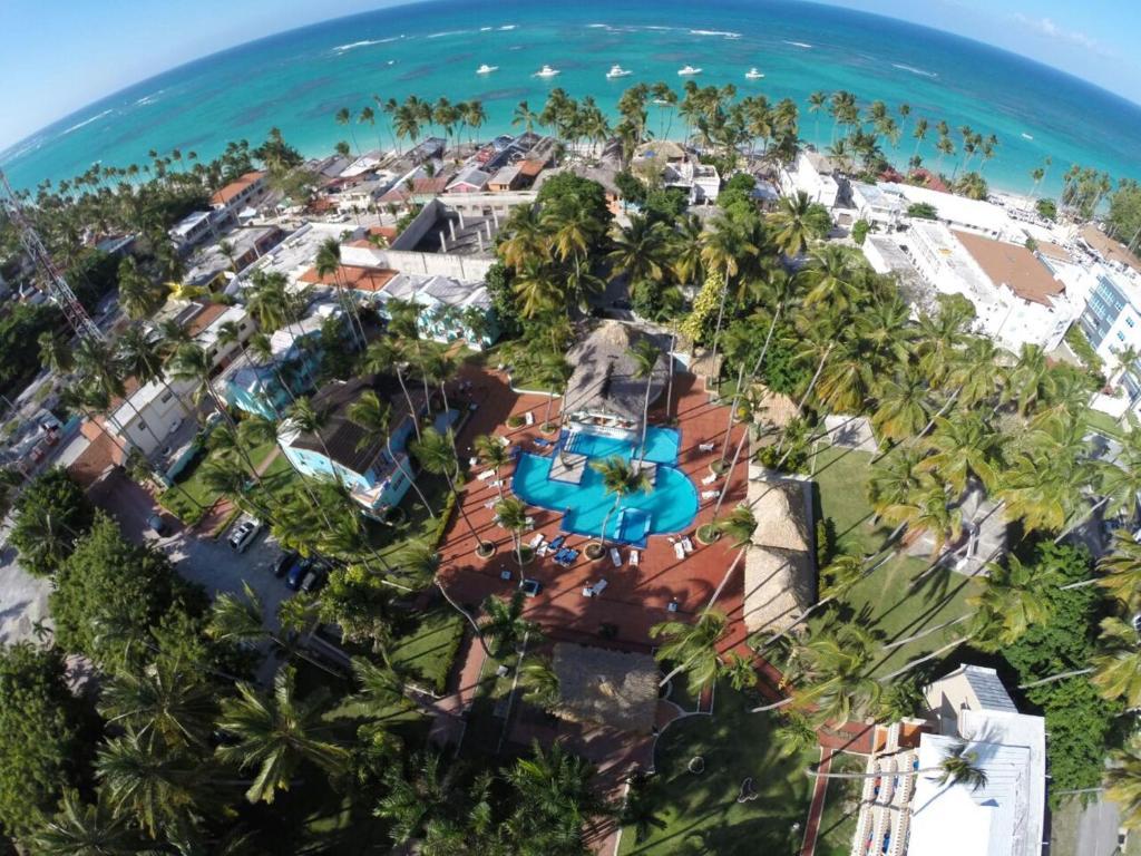 Una vista aérea de Hotel Cortecito Inn Bavaro