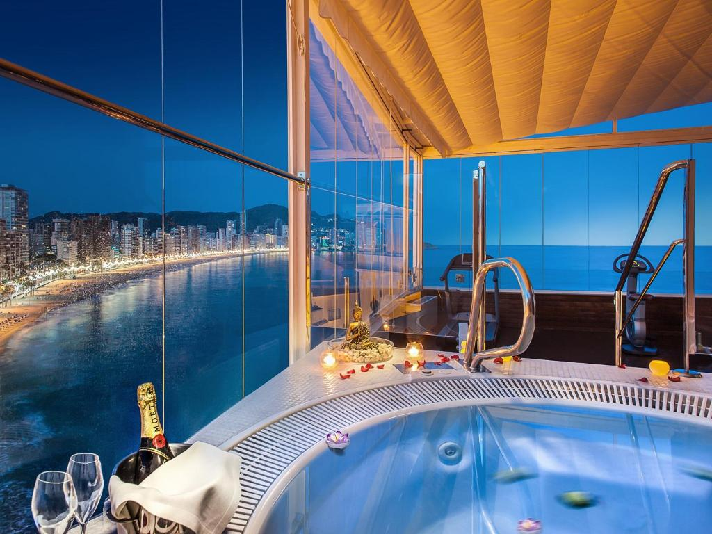Um banheiro em Hotel Boutique Villa Venecia