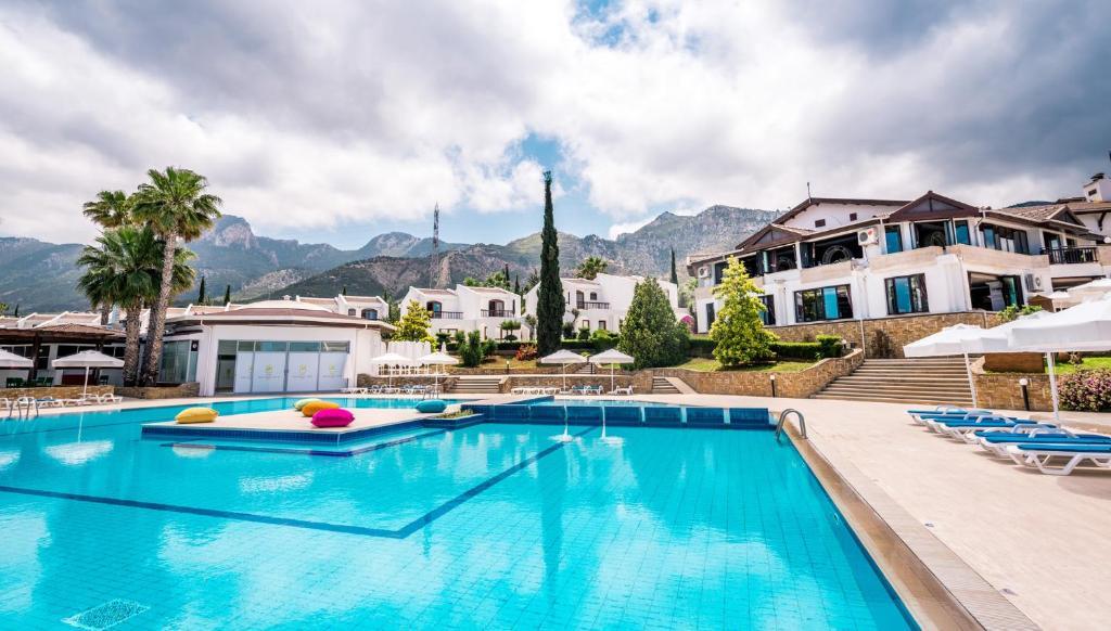 בריכת השחייה שנמצאת ב-The Olive Tree Hotel או באזור