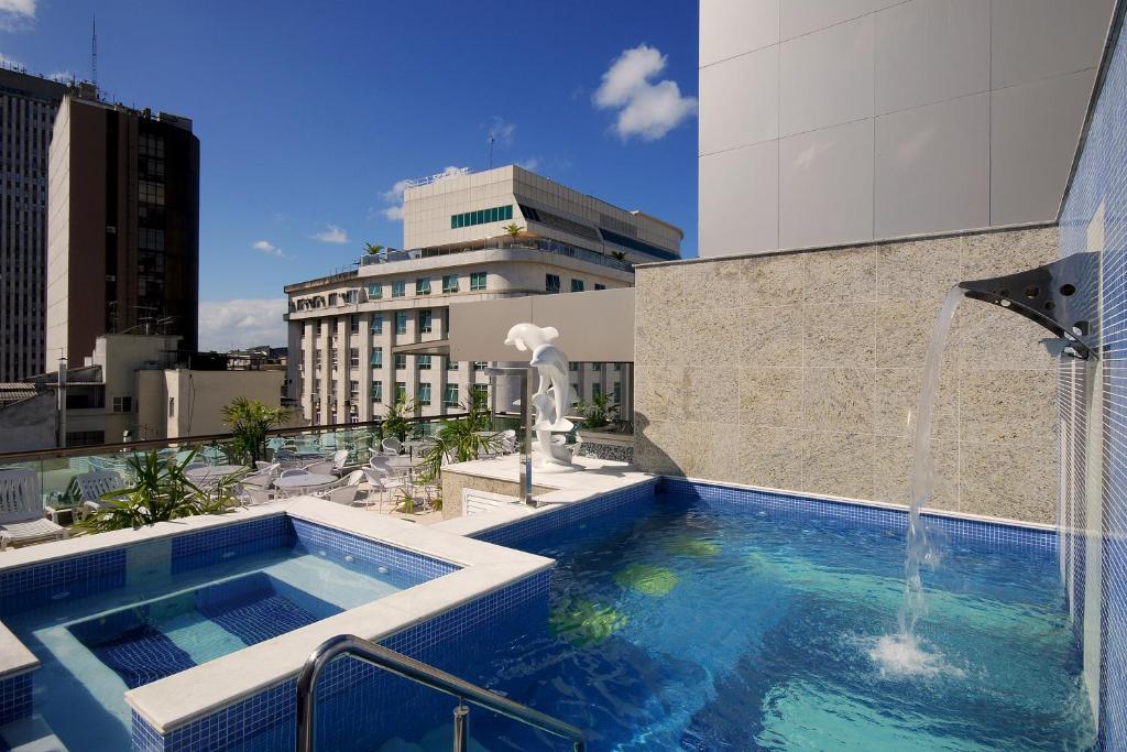 المسبح في فندق أتلانتيكو بيزنيس سنترو أو بالجوار