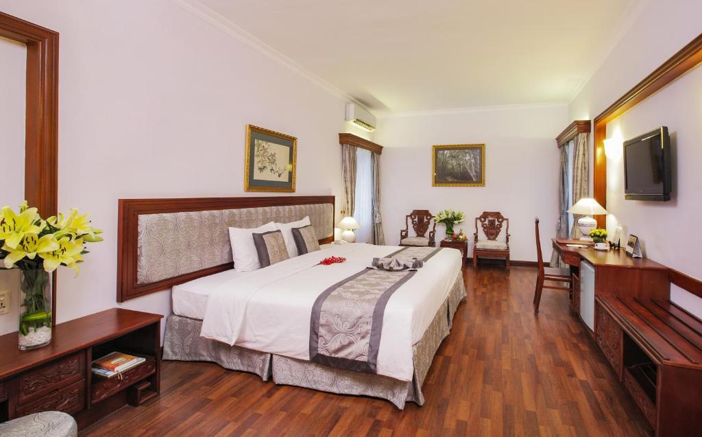 Phòng Orient Deluxe Giường Đôi/2 Giường Đơn