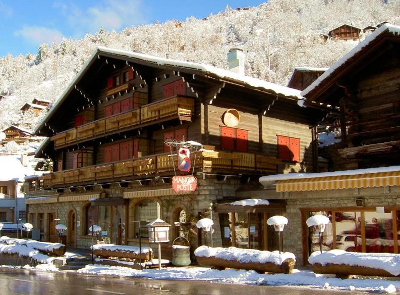 Posada u hostería Au Manoir dAnniviers (Suiza Vissoie ...