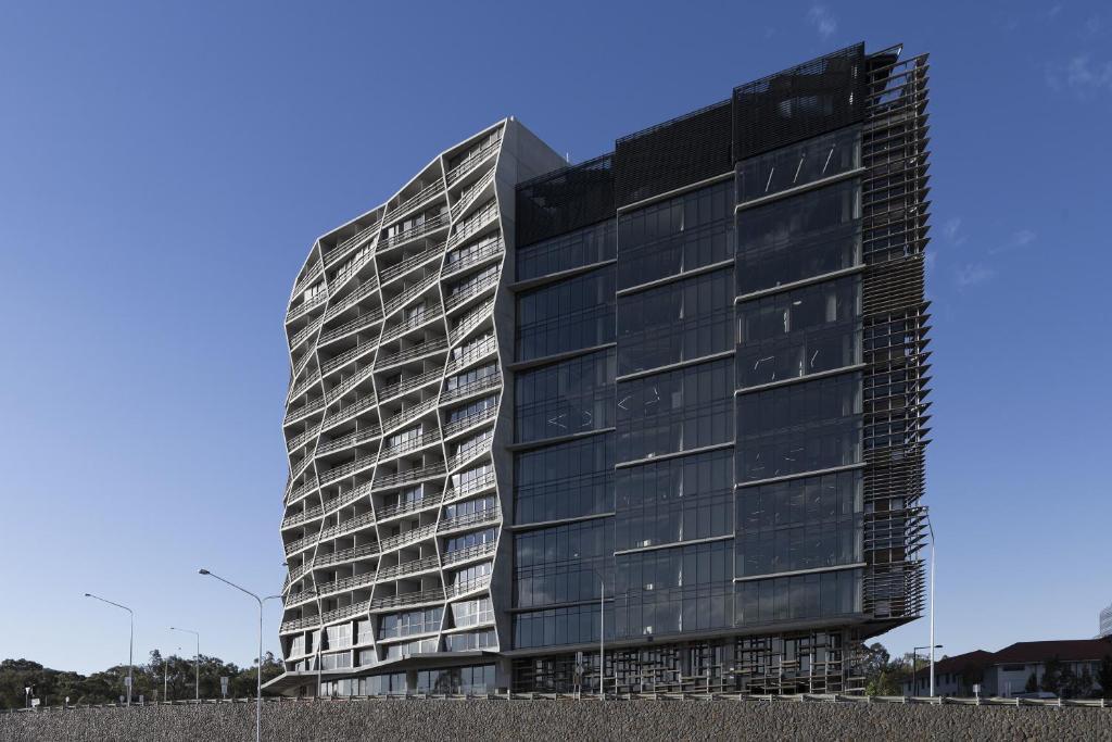 Design icon apartments at newacton canberra australia for Design hotel australia