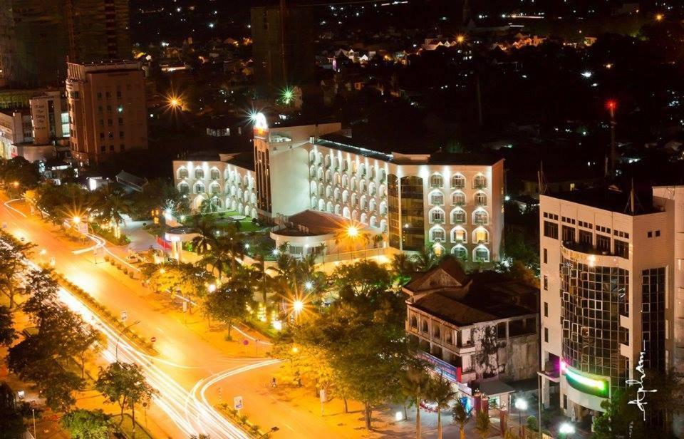 Tầm nhìn từ trên cao của Sai Gon Kim Lien Hotel Vinh City