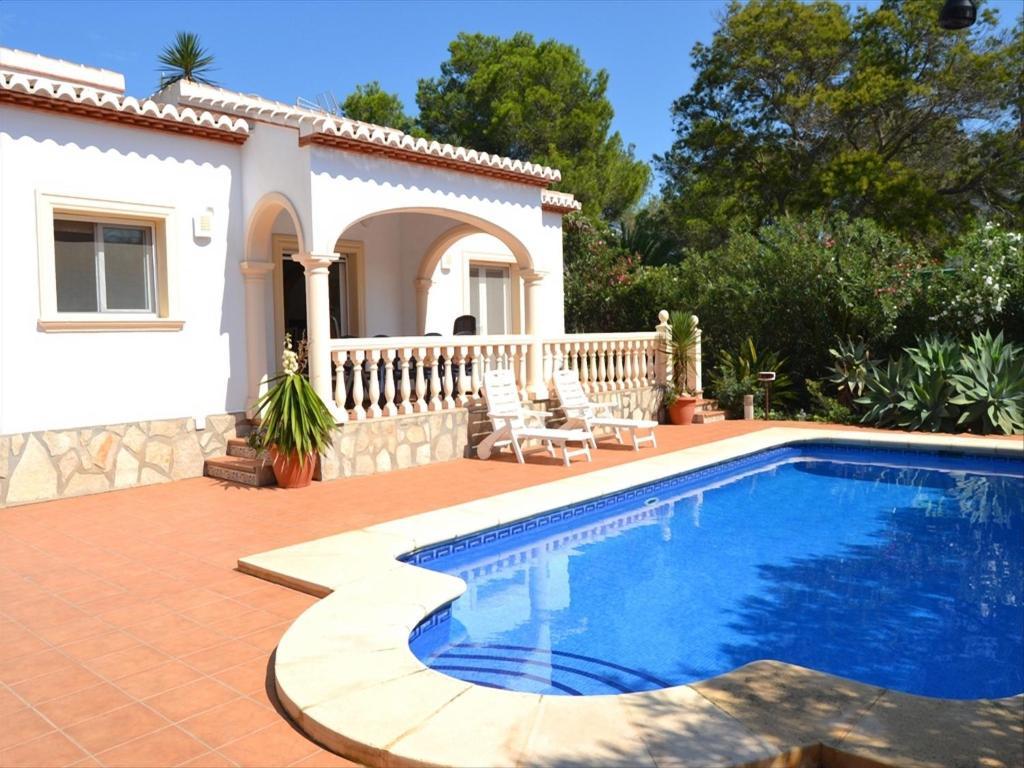 Casa de vacaciones casa los prados espa a j vea for Booking casas