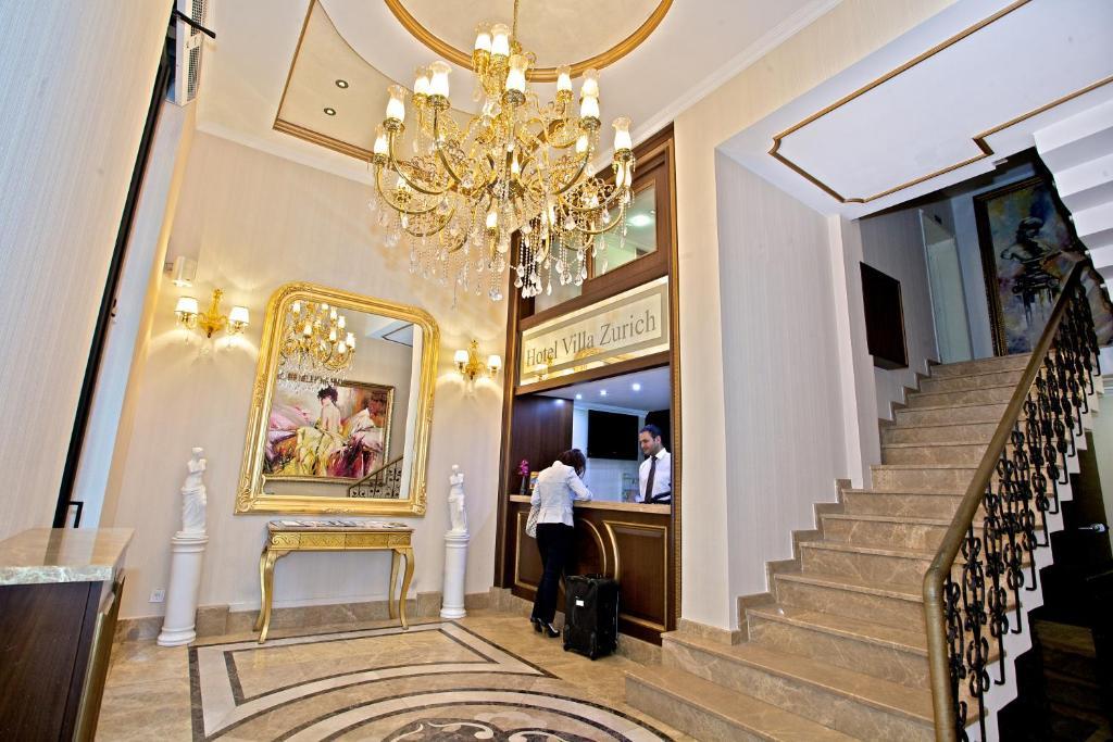منطقة الاستقبال أو اللوبي في فندق فيلا زوريج