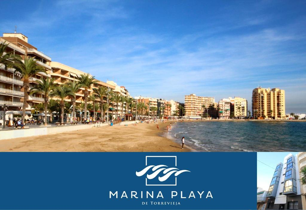 Apartamentos marina playa torrevieja spain for Apartamentos playa