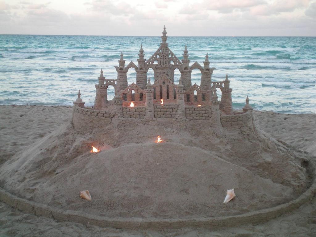 Casablanca On The Ocean By Sand Castles Miami Beach