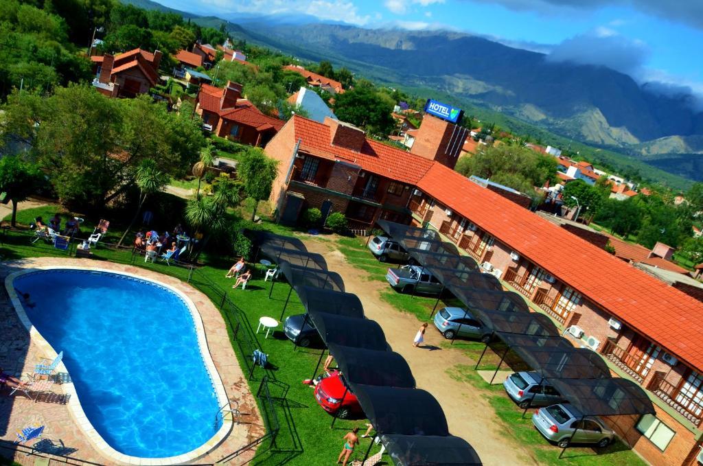 Una vista aérea de Hotel Valle Del Sol