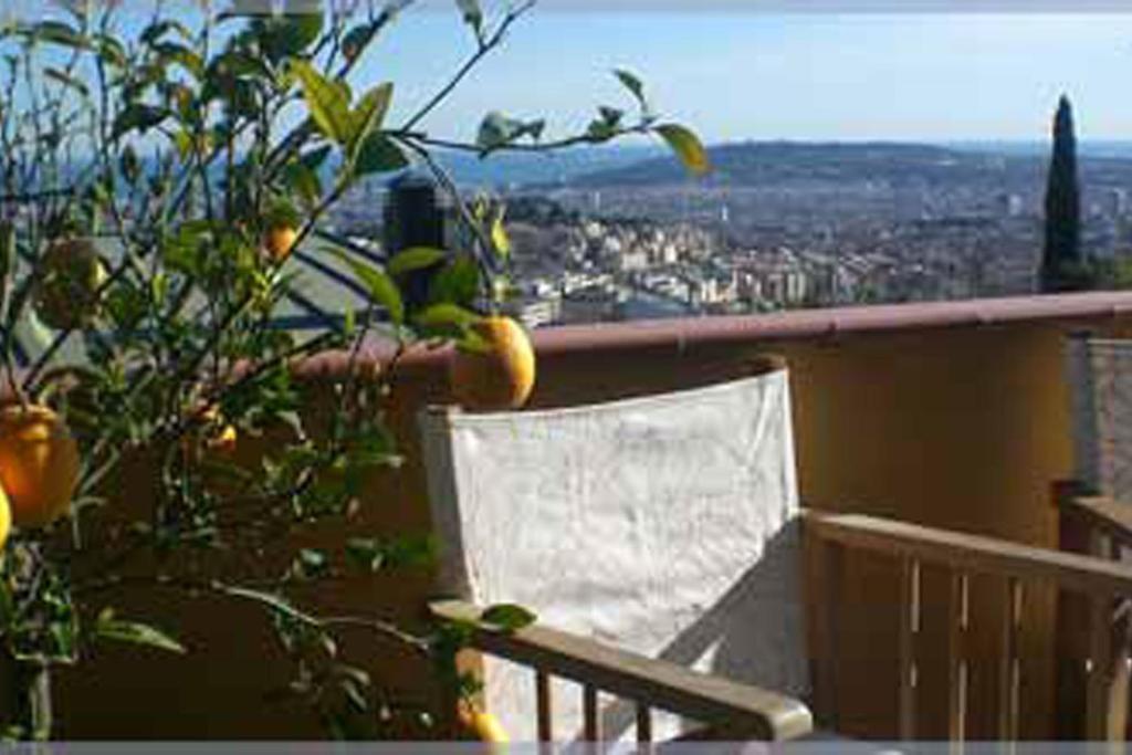 Uma varanda ou terraço em Anita's Bed and Breakfast