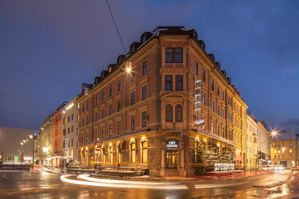 Hotel central sterreich innsbruck for Central de reservation hotel