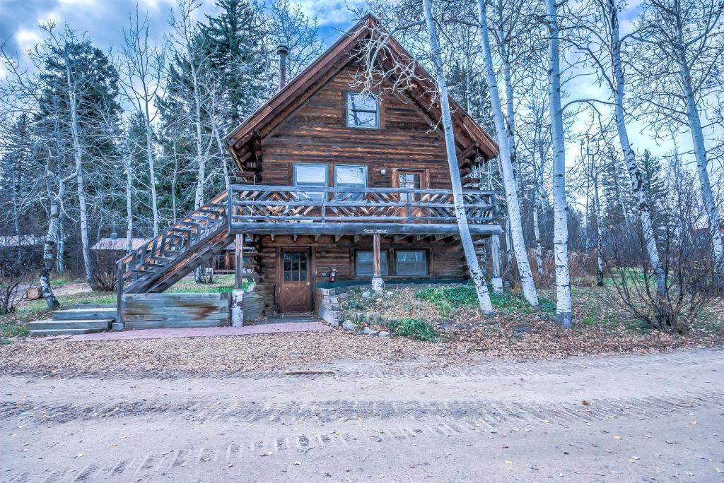 Vacation home perry mansfield columbine cabin steamboat for Cabin rentals near steamboat springs
